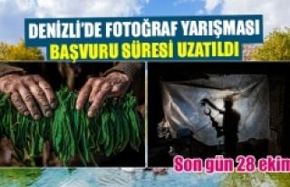 Denizli'de fotoğraf yarışması başvuru süresi...