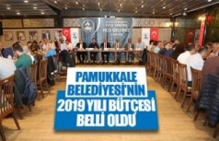 Pamukkale Belediyesi'nin 2019 yılı bütçesi belli...