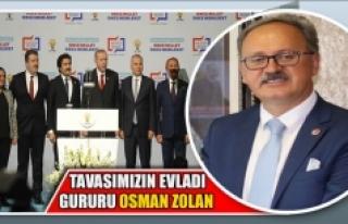 Başkan Akyol Tavasımızın evladı gururu Osman...