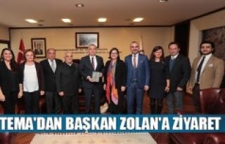 TEMA'dan Başkan Zolan'a ziyaret