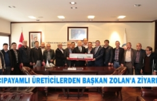 Acıpayamlı Üreticilerden Başkan Zolan'a Ziyaret