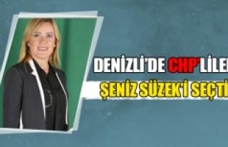 Denizli Merkezefendi'de CHP'liler Şeniz Süzek...