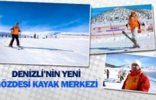 Denizli'nin yeni gözdesi kayak merkezi
