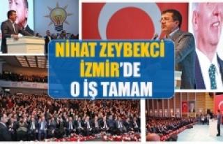 Zeybekci İzmir'de o iş tamam