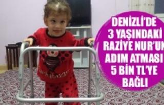 Denizli'de 3 yaşındaki Raziye Nur'un adım...
