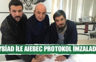 Aysiad ile aıesec protokol imzaladı