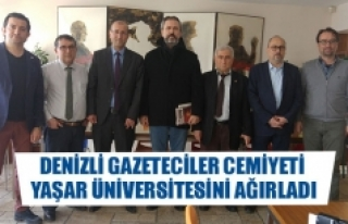 Denizli Gazeteciler Cemiyeti Yaşar Üniversitesini...