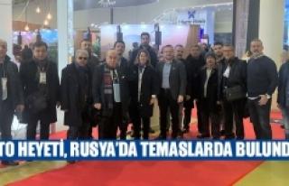 DTO heyeti, Rusya'da temaslarda bulundu