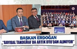 """Başkan Erdoğan: """"sayısal takograf da artık DTO'dan..."""