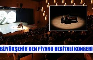 Büyükşehir'den piyano resitali konseri