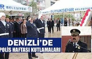 Denizli'de polis haftası kutlamaları