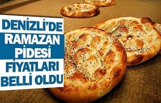 Denizli'de Ramazan pidesi fiyatları belli oldu
