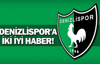 Denizlispor'a iki iyi haber!