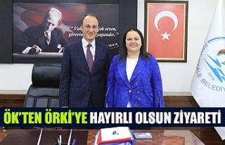 Ök'ten Örki'ye hayırlı olsun ziyareti
