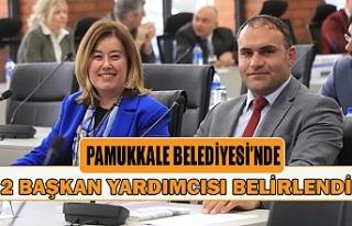 Pamukkale Belediyesi'nde 2 başkan yardımcısı...
