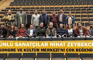 Ünlü sanatçılar Nihat Zeybekci kongre ve kültür...