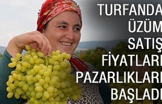 Turfanda Üzüm Satış Fiyatları Pazarlıkları...