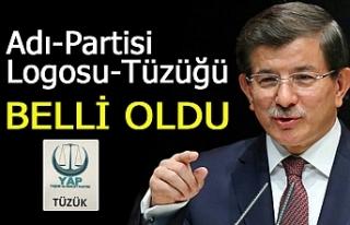 Davutoğlu'nun partisi belli oldu!