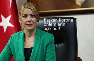 Başkan Korona önlemlerini açıkladı!