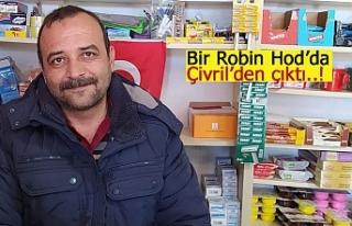 Bir Robin Hod'da Çivril'den çıktı!