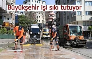 Büyükşehir işi sıkı tutuyor