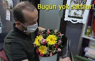 Çiçekçilerde çiçek kalmadı!