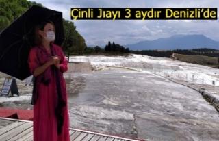 Çinli Jıayı 3 aydır Denizli'de