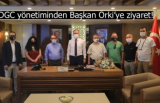 DGC yönetiminden Başkan Örki'ye ziyaret!