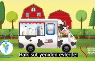 Halk süt yeniden evlerde!