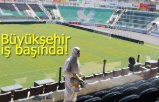 Stadyum Büyükşehir'e emanet