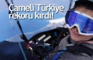 Çameli Türkiye rekoru kırdı!