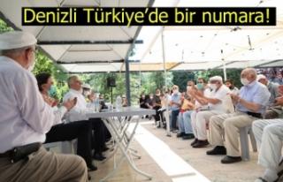 Denizli Türkiye'de bir numara!