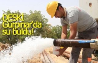 DESKİ Gürpınar'da su buldu!