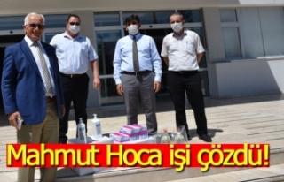 Mahmut Hoca işi çözdü!