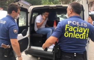 Polis bir faciayı önledi!