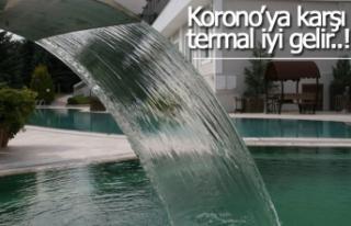 Korono'ya karşı termal iyi gelir