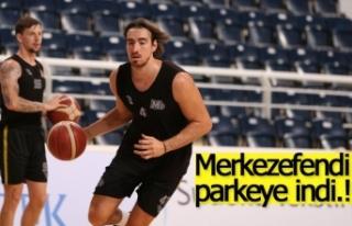 Merkezefendi Basket parkeye indi