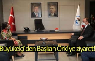 Büyükelçi'den Başkan Örki'ye ziyaret!