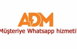 Müşteriye Whatsapp hizmeti!