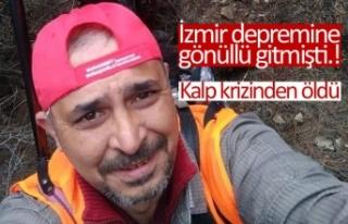 İzmir depremine gönüllü gitmişti!