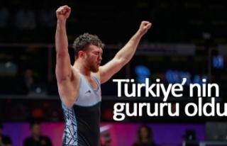 Türkiye'nin gururu oldu!