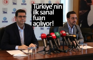Türkiye'nin ilk sanal fuarı açılıyor!