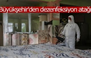 Büyükşehir'den dezenfeksiyon atağı