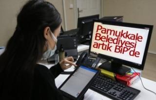 Pamukkale Belediyesi artık BİP'de