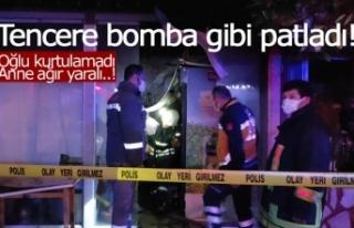 Tencere değil sanki bomba!