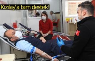 Kızılay'a tam destek!