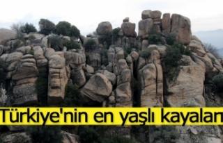 Türkiye'nin en yaşlı kayaları