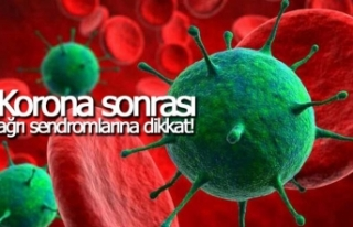 Korona sonrası ağrı sendromlarına dikkat!