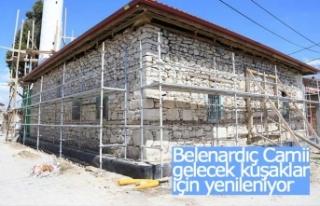 137 yıllık tarihi Belenardıç Camisi gelecek kuşaklar...
