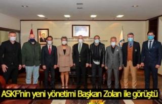 ASKF'nin yeni yönetimi Başkan Zolan ile görüştü